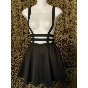 Dresses & Skirts - Black Harness Skirt